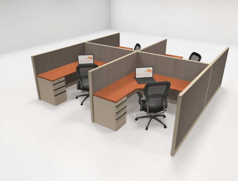 Knoll Morrison 6x6 48h Workstations