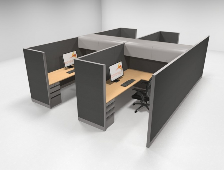 Knoll Morrison 6x8 64h Workstations