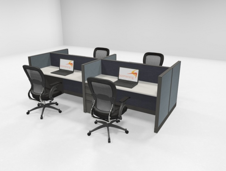 Knoll 42 H Telemarketing Workstations