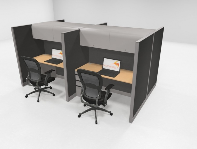 Knoll 64 H Telemarketing Workstations