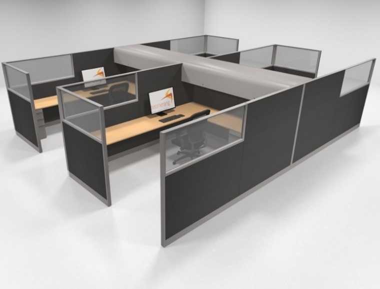 Knoll morrison 64 42 8x10 stations with windows for 8x10 office design